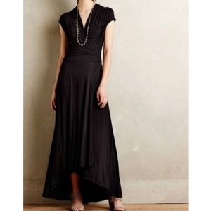 Maeve Anthro Desert Star Maxi in Black